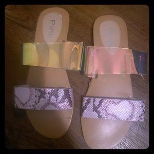 Size 10 sandals (slides) NWOB